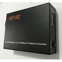 Netviel Media Converter NVL-MC-SM1G-20SC 1