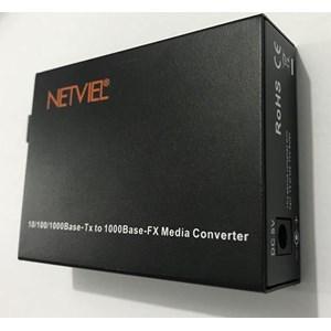 Netviel Media Converter NVL-MC-SM1G-20SC