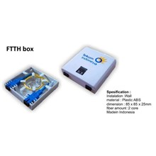 Roset Optic FTTH 2 Core (termasuk coupler)