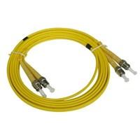 NETVIEL Patch Cord ST-ST Duplex Singlemode 9um-125um 1