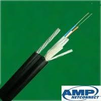 AMP Fiber Optic CABLE OUTDOOR Plant Armoured 1