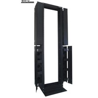 ABBA 19 Open Entry Rack 42U High Density With Cable Duct 1