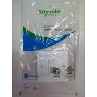 SCHNEIDER ELECTRIC FACE PLATE