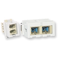 Nexans Fibre Optics Coupler Duplex LC N205.611  1
