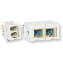 Nexans Fibre Optics Coupler Duplex LC N205.611