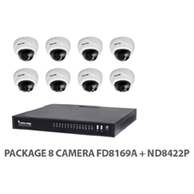 Package Vivotek 8 IP Camera FD8169A+ND8422P