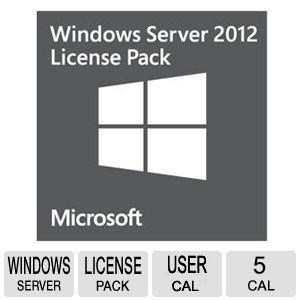 Microsoft Windows Server CAL 2012 5 Client (R18-03683)