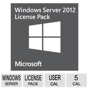 Ms Windows Server CAL 2012 1 Client (R18-03665)