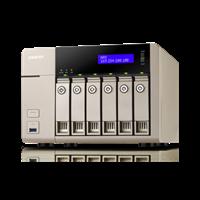 QNAP Turbo Nas TVS-663-4G 1
