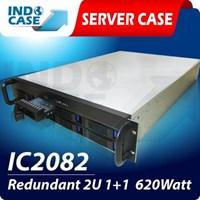 INDOCASE CASE IC2082 Redundant 2U 620W 1