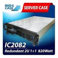 INDOCASE CASE IC2082 Redundant 2U 820W 1