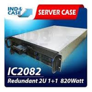 INDOCASE CASE IC2082 Redundant 2U 820W