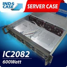 INDOCASE Rackmount CASE IC2082 2U 600W