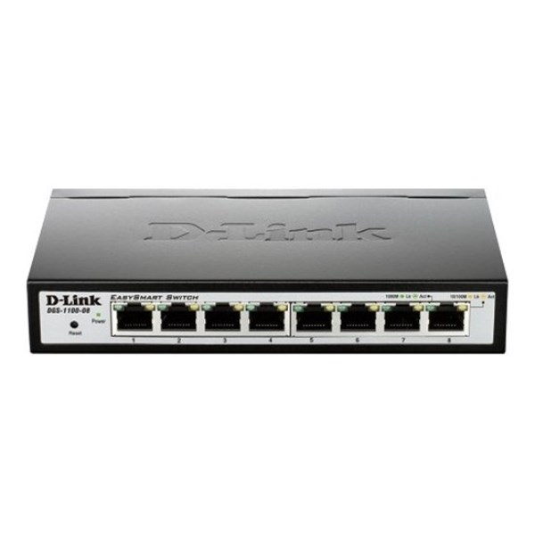 D-LINK EasySmart Switch DGS-1100-08 8 Port 10/100/1000 Mbps