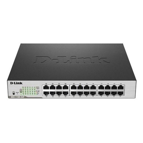 D-LINK Smart Switch DGS-1100-24P 24 Port 10/100/1000 Mbps PoE
