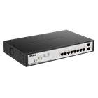 D-LINK Smart Managed Switch DGS-1100-10MPP 8 Port GB PoE+2SFP Port 1