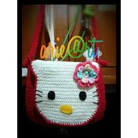 Tas Rajut Hello Kitty