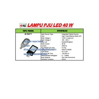Lampu PJU multi Led 40Watt