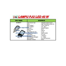 Lampu PJU multi Led .40Watt