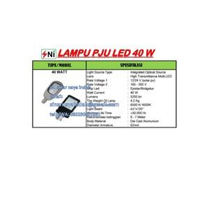 Lampu PJU multi Led 40Watt