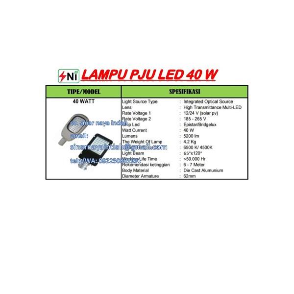 Lampu PJU multi Led .40Watt