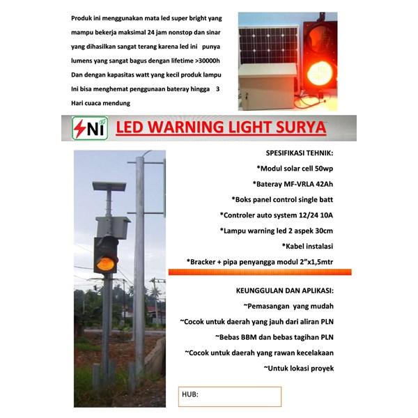 led warning light Pack solar power