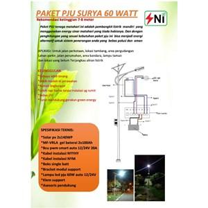Dari PJU solar cell 60W SNI-060TS 4