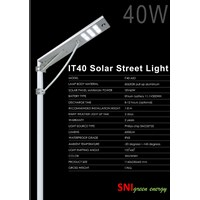 Solar lights all in one 40Watt road