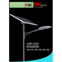 Lampu Jalan Two In One 20 Watt