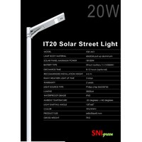 Street Light AIO 20 Watt