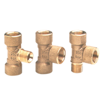 Brass Tii-fittings 1