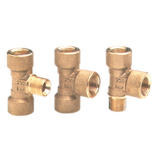 Brass Tii-fittings
