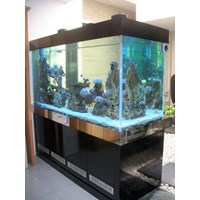 Jual aquarium air laut tawar surabaya