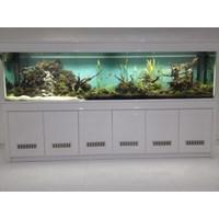 Hiasan Aquarium dan kabinet
