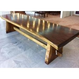 Export Large Table. Top Solid Wood With Strengthen Block Between The Leg.  Indonesia