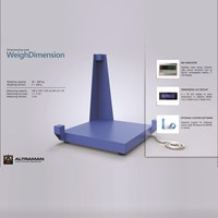 Weighing Dimesion floor scale 1