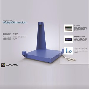 Weighing Dimesion floor scale