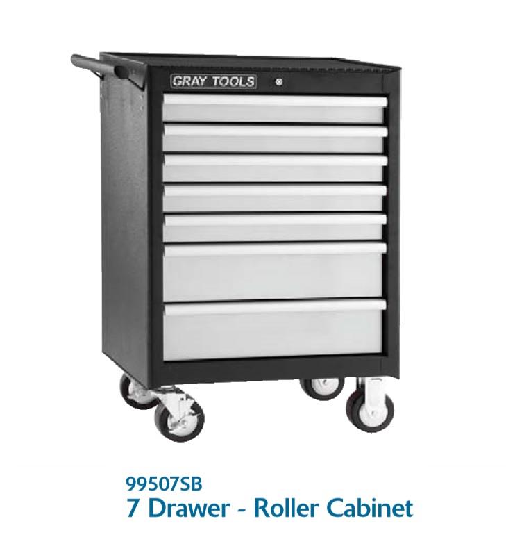 jual 7 drawer roller cabinet model 99507sb lemari tools merek gray tools harga murah kota. Black Bedroom Furniture Sets. Home Design Ideas