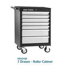 7 DRAWER ROLLER CABINET MODEL 99507SB - LEMARI TOOLS MEREK GRAY TOOLS