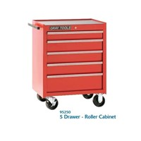 Jual Kabinet Perkakas 5 Drawer Gray Tools