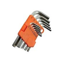 Dynamic Tools - Hex Key Set (SAE) 13 Pcs