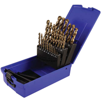 Jual Mata Bor - Colbalt Metric High Speed Steel Drill Bit Set