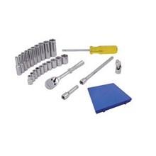 Kunci Soket Set - 25 Pcs (Imperial Dr.0.25 Inch)