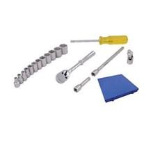 Kunci Soket Set - 17 Pcs (Metric Standard Dr. 0.25 Inch)