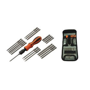 Screwdriver Set 21 Piece - with Removable Bits