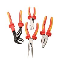 Plier Set-Insulated Handles 4 Piece  1