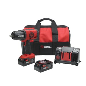 CP8849 PACK US CORDLESS IMPACT WRENCHE - POWERFUL & EFFICIENT BRAND CHICAGO PNEUMATIC
