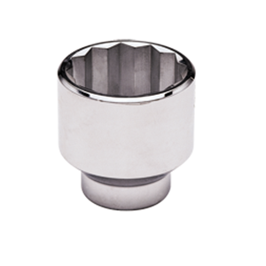 SAE & METRIC STANDARD CHROME SOCKETS 12 PT - GRAY TOOLS