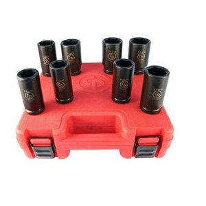 IMPACT SOCKET SET SS618D FORGED FOR A LIFETIME - CHICAGO PNEUMATIC
