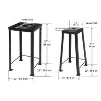 Filter Crusher Stand